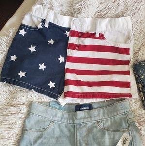 Shorts - Bundle Deal 4 pairs of girls shorts